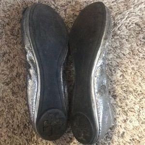 Tory Burch Shoes - Silver Tory Burch Flats